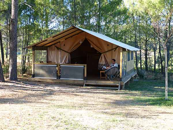 location glamping sud ardeche